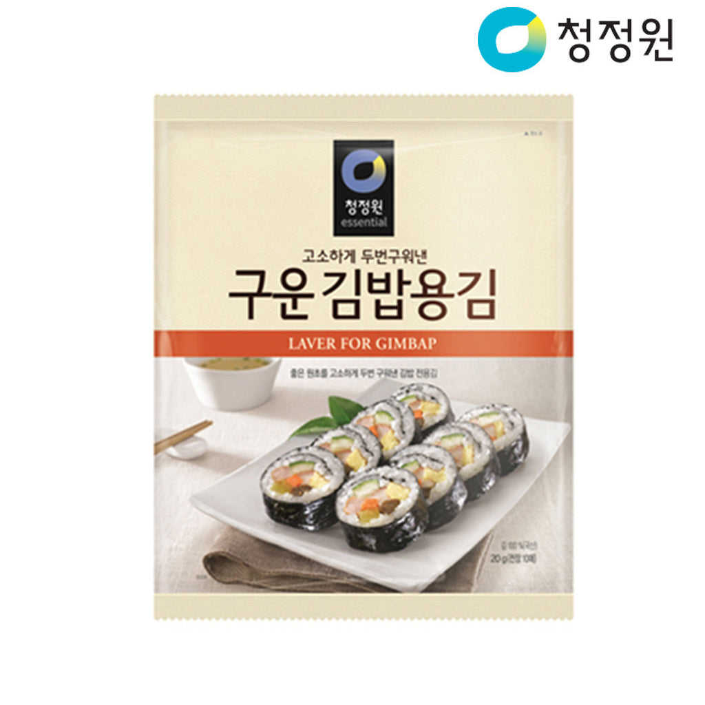 HD2521<br>Chungjungone Roasted Seaweed Shushi Nori 40/40G