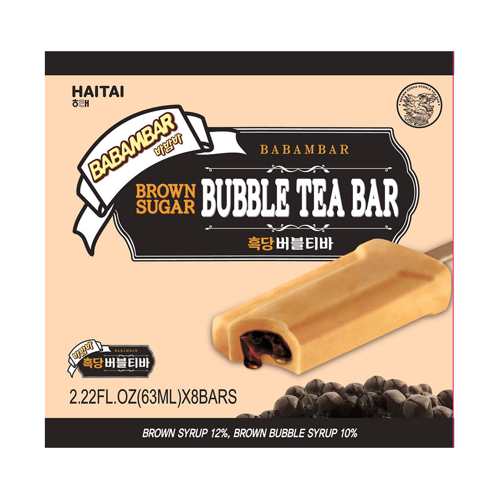 IH1072H<br>Haitai Babamba Ice Bar Brown Sugar Bubble 8/5/63ML