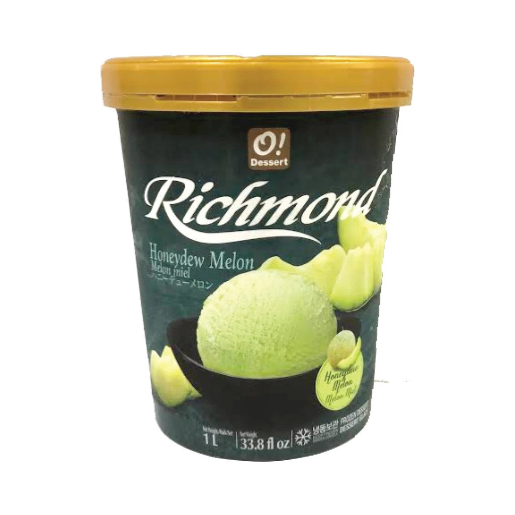 IO2004<br>O!Dessert Honeydew Melon Ice Cream 8/1L