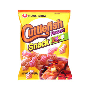 JSO014<br>Nongshim Cuttlefish Snack 20/55G