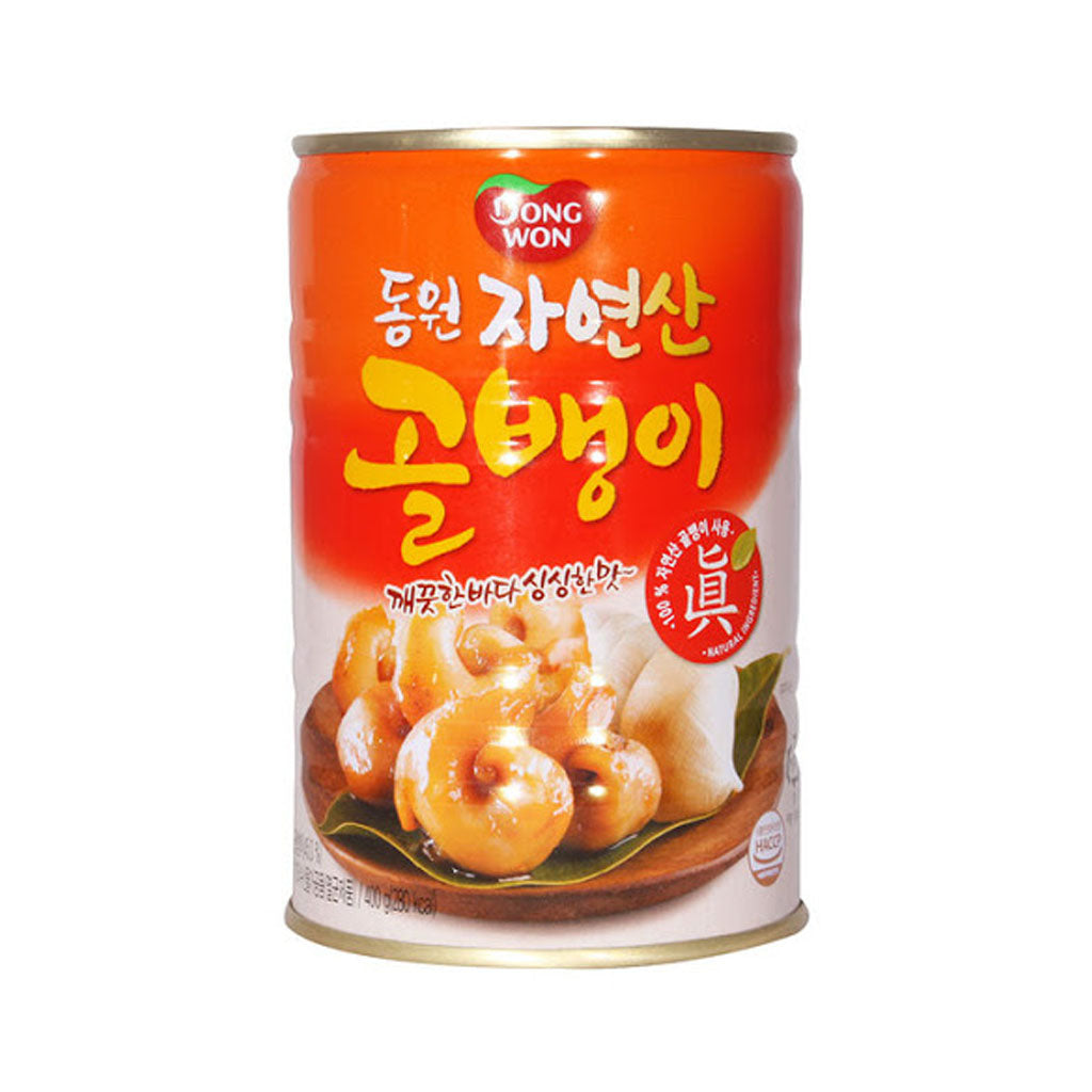 KD1023<br>Dongwon Canned Whelk(Natural) 24/400G