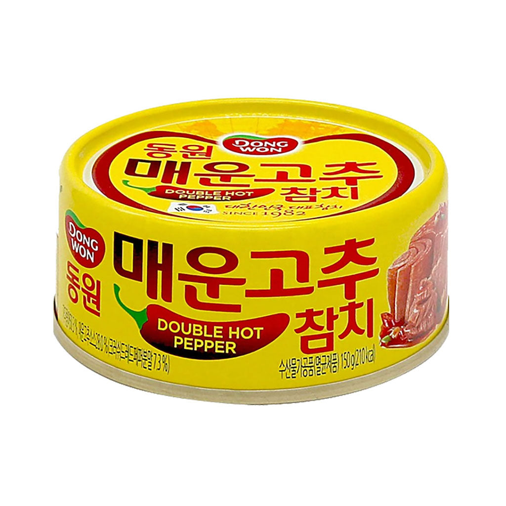 KD1042D<br>Dongwon Light Tuna With Extra Hot Pepper 48/150G