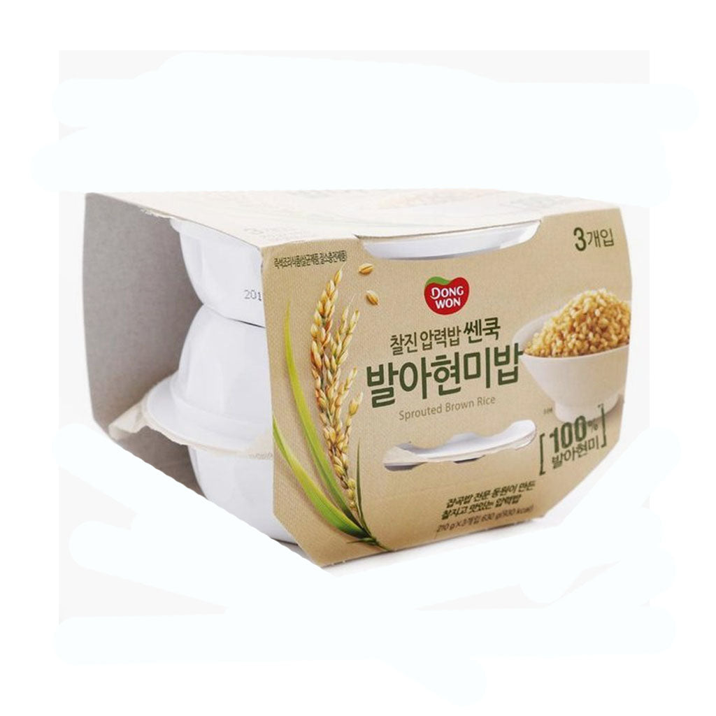 KD1064<br>Dongwon Cooked Sprouted Brown Rice 6/3/195G
