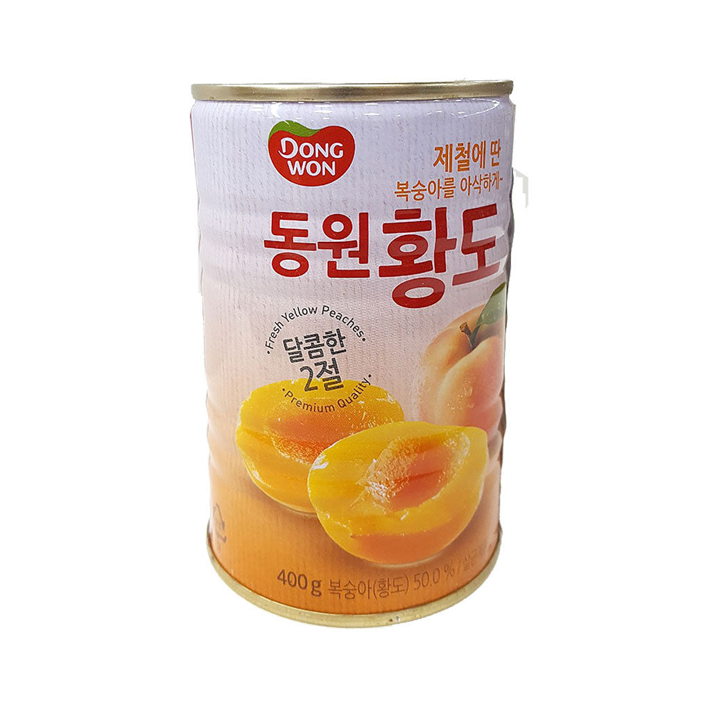 KD1120<br>Dongwon Canned Peach (Yellow) 24/400G