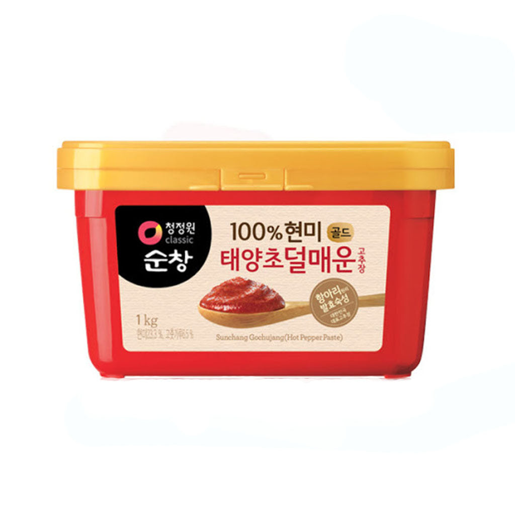 KD3028<br>Chungjungone Hot Pepper Paste(Mild) 12/2.2LB(1Kg)