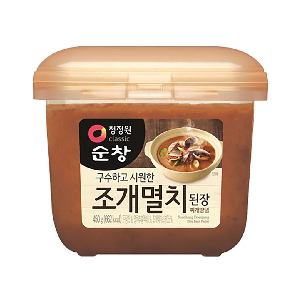 KD3042<br>Chungjungone Clam & Anchovy Soy Bean Paste 12/450G