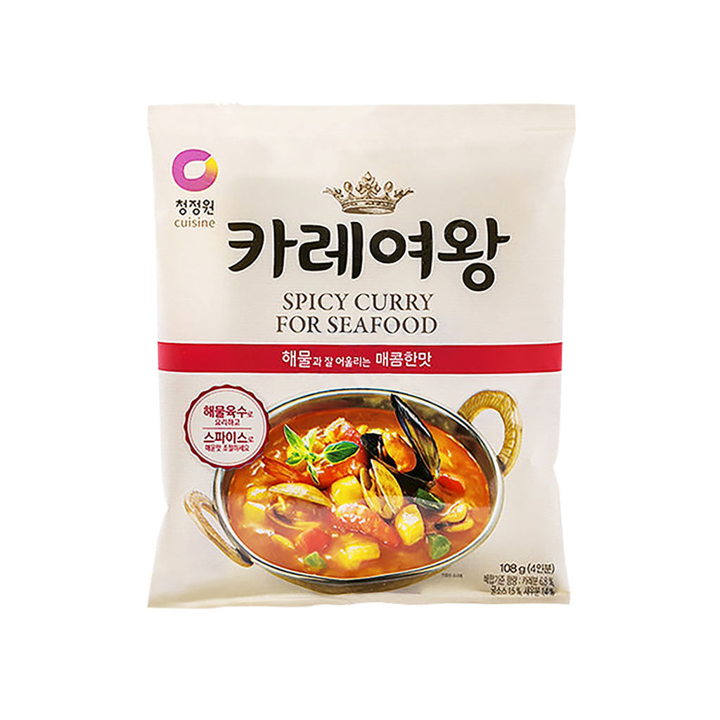 KD4109T<br>Chungjungone Queen'S Curry Seafood 16/108G