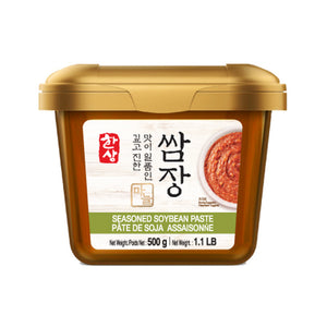 KH1337<br>Hansang Garlic Seasoned Soybean Paste 16/1.1LB(500G)
