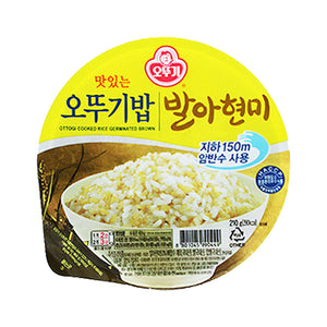 KO1202T<br>Ottogi Cooked Sprouted Brown Rice 12/210G