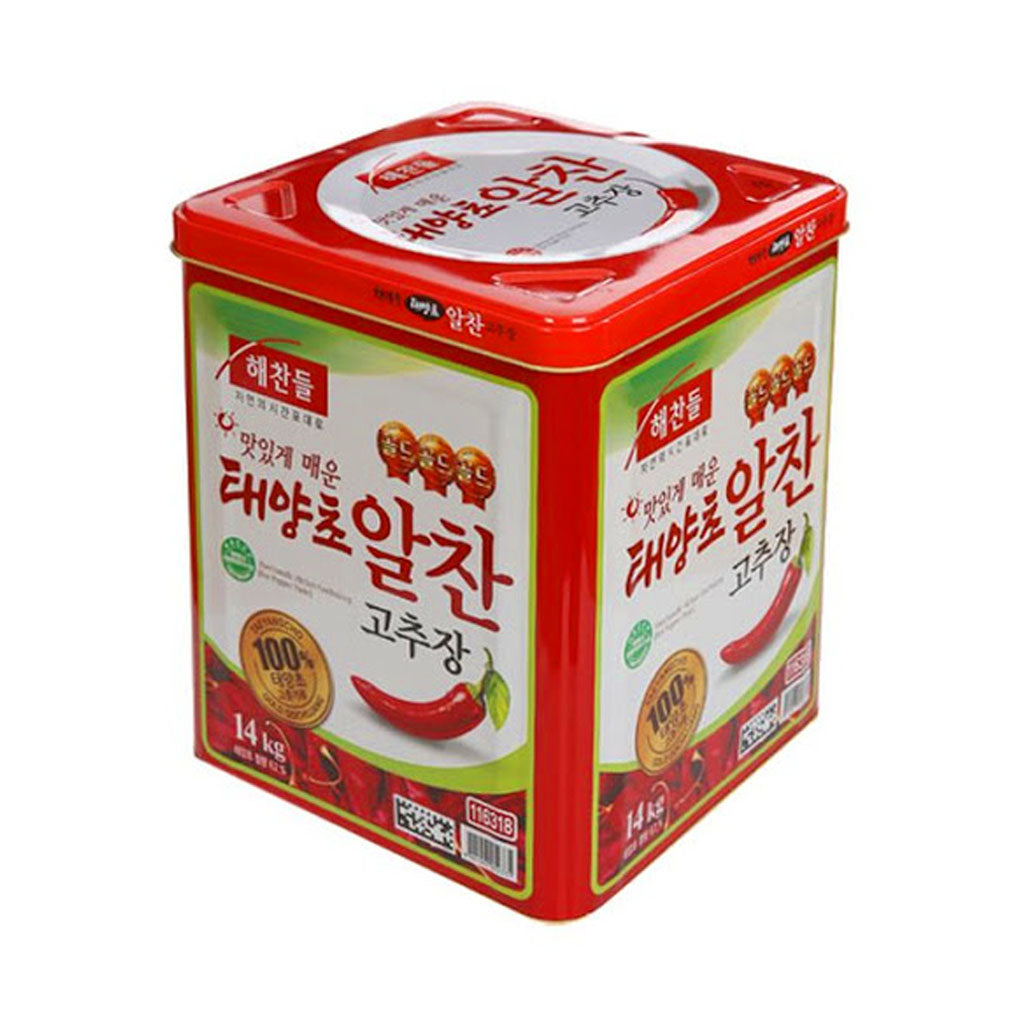 KS2081T<br>CJ Haechandle Hot Pepper Paste Can 1/14Kg