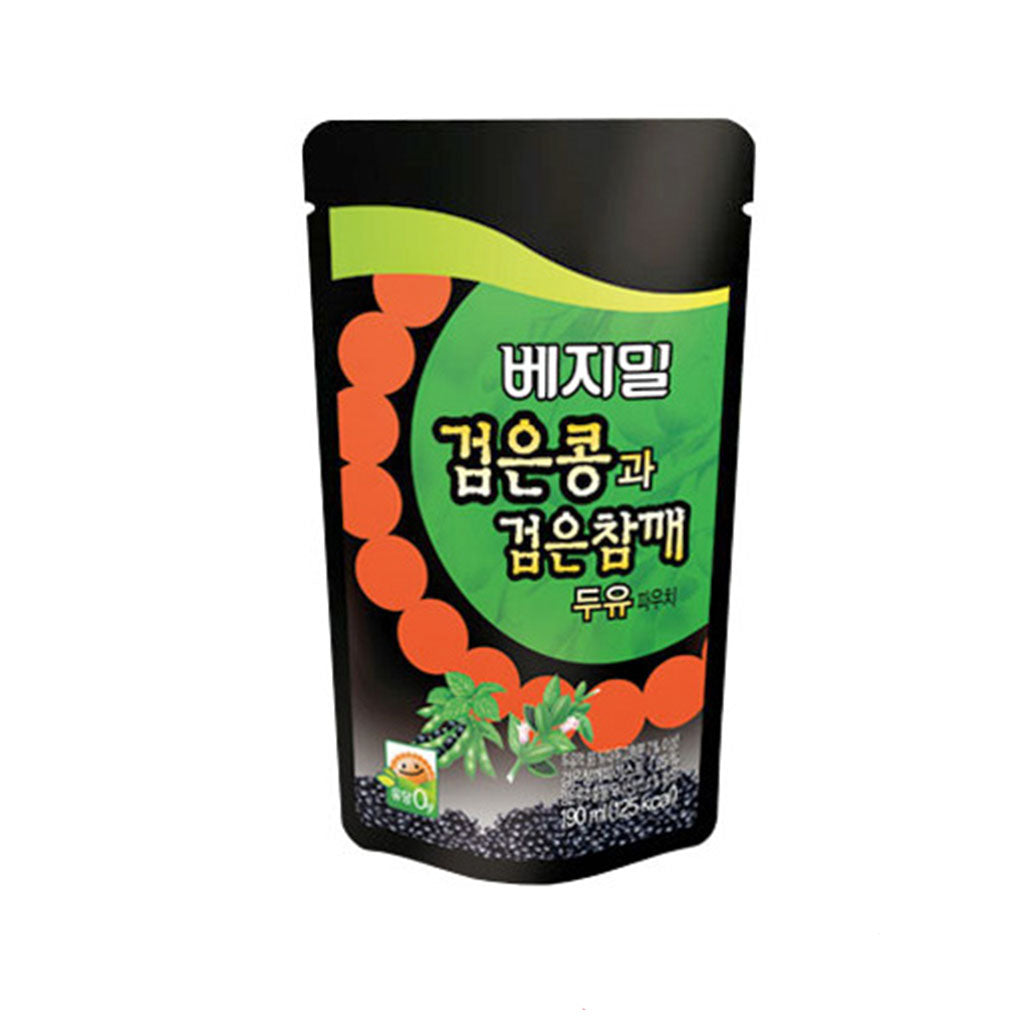 LJ0013<br>Dr. Chung's Food Black Sesame Drink (Pouch) 3/20/190ML