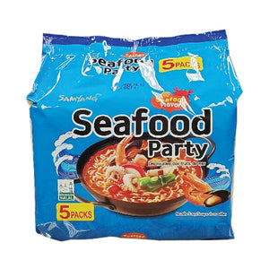 NS1077<br>Samyang Seafood Party(Multi) 4/5/125G