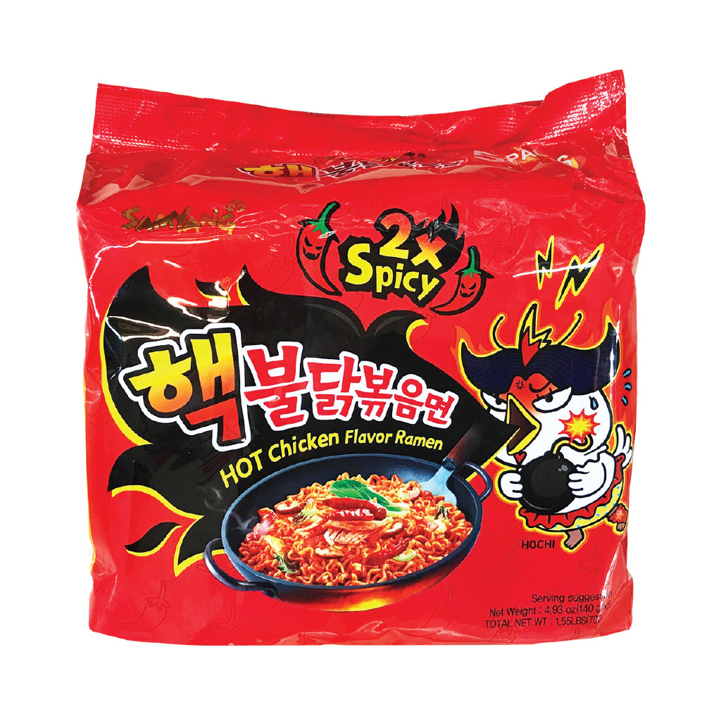 NS1078X<br>Samyang 2X Hot Chicken Noodle(Multi) 8/5/140G