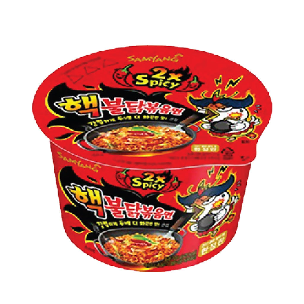NS1084<br>Samyang 2X Hot Chicken Fried Noodle(Big Cup) 16/105G