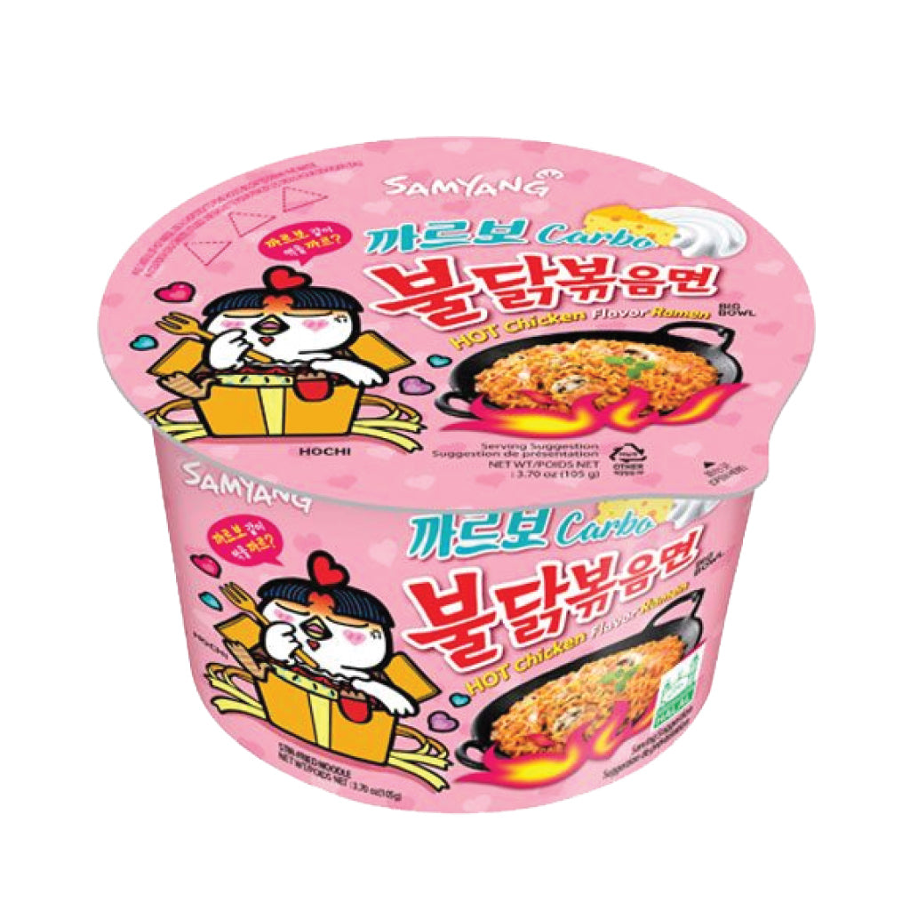 NS1087<br>Samyang Hot Chicken Big Bowl Carbo (Cup) 16/105G