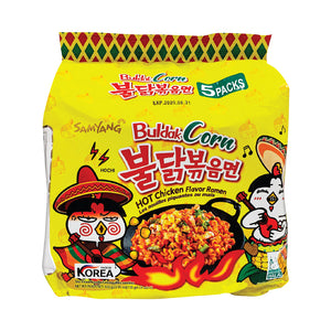 NS1107<br>Samyang Hot Chicken Corn Ramen(Multi) 8/5/120G