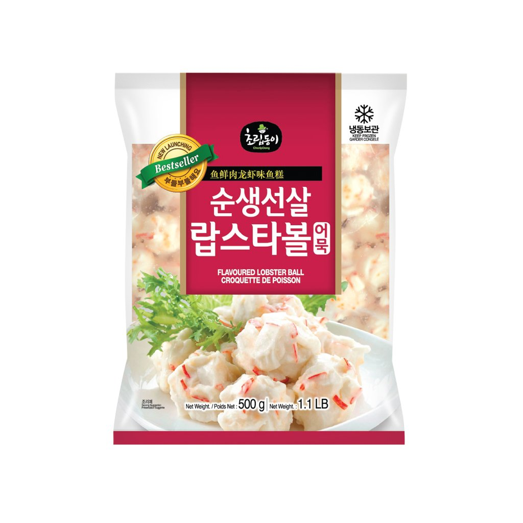 OC1086B<br>Choripdong Lobster Ball Fish Cake 20/500G