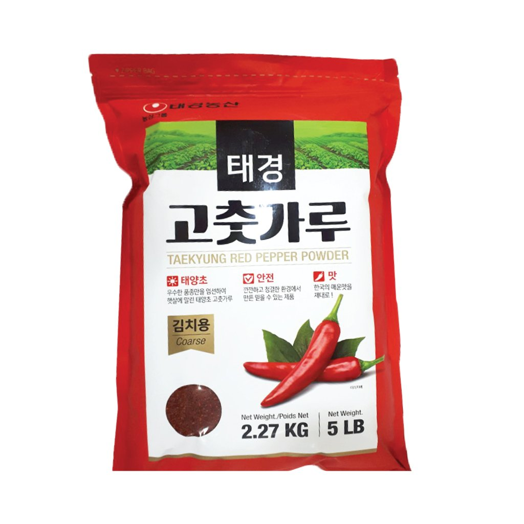 PG2303<br>Taekyung Red Pepper Powder(Coarse) 6/5LB(2.27Kg)