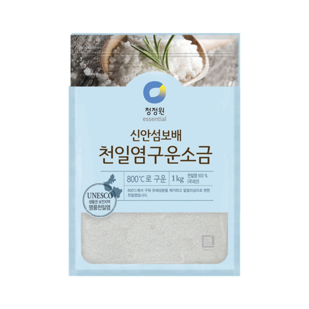 PS2304<br>Chungjungone Shinan Roasted Salt 10/2.2LB(1Kg)