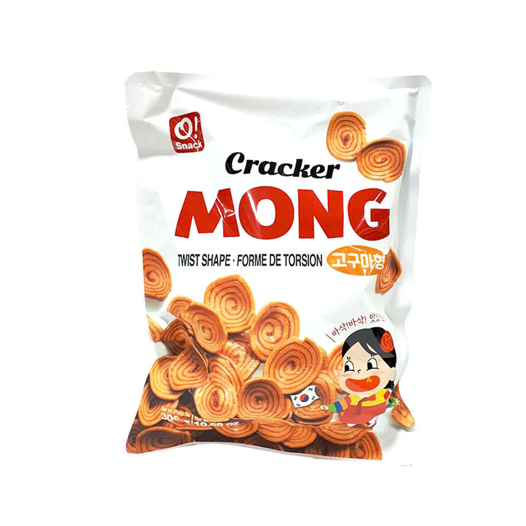 SC3201<br>O!Snack Cracker Mong (Twist Shape) 12/300G