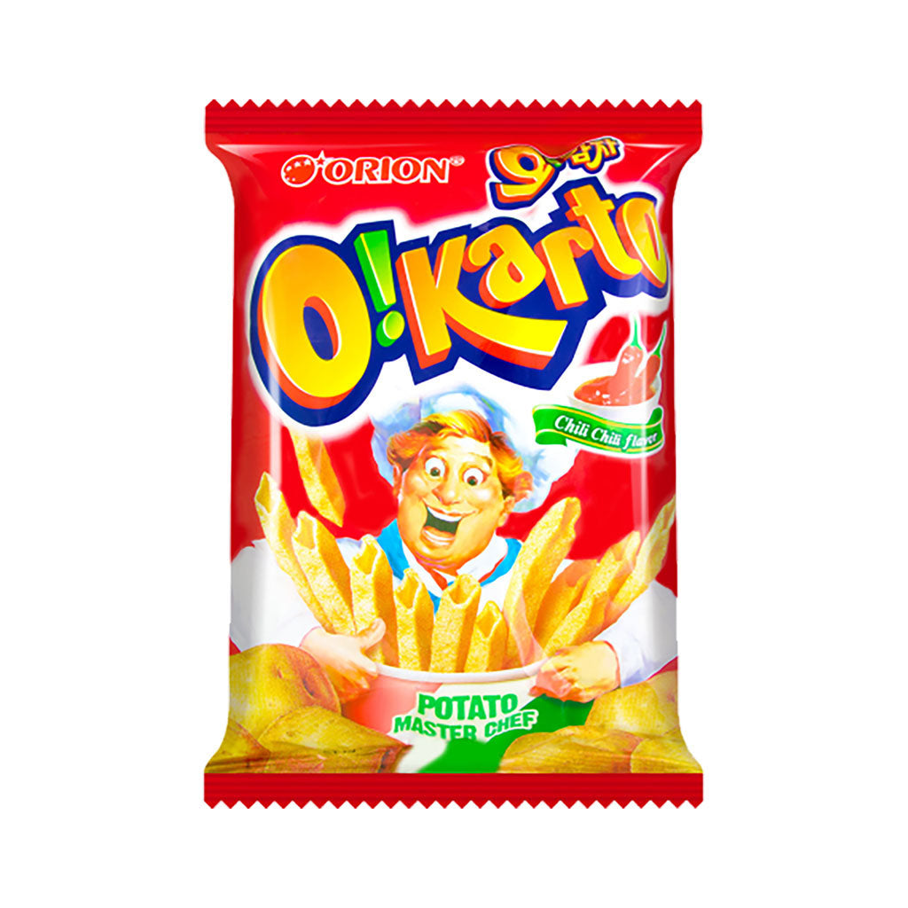 SO1045A<br>Orion Oh Gamja (Chilli Potato) Chips 24/50G