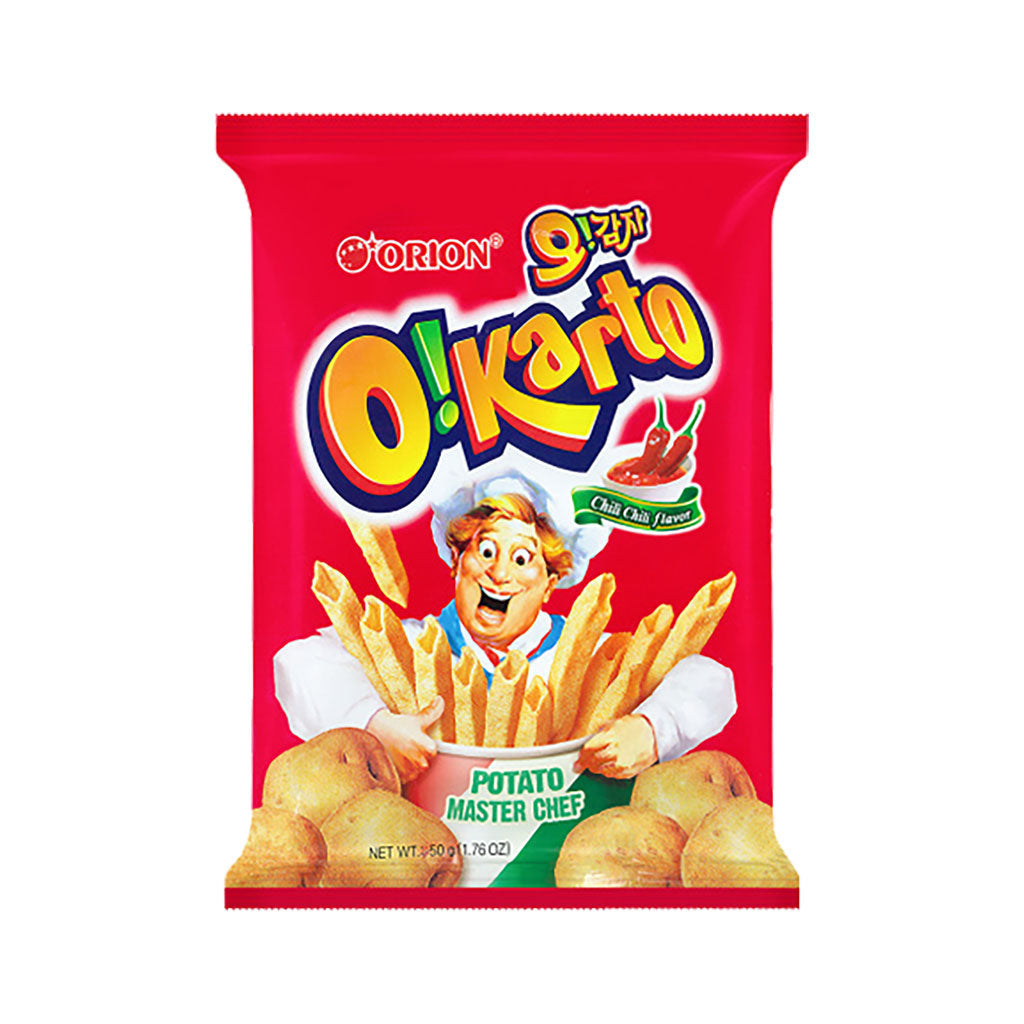SO1046A<br>Orion Oh Gamja (Chilli Potato) Chips 12/115G