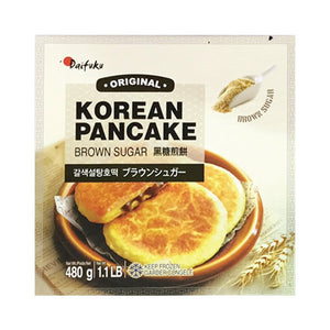 V-KP1001<br>Daifuku Korean Pancake (Brown Sugar) 24/480G (V-Kp1001)