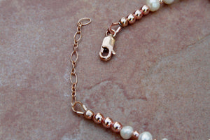 Women's Mother of Pearl Anklet