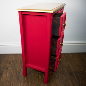 Apothecary-Style Small Chest of Drawers