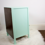 Autentico Menta mint colour paint used to refinish Utility Furniture