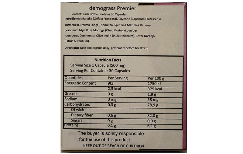 Demograss Premier Special Edition