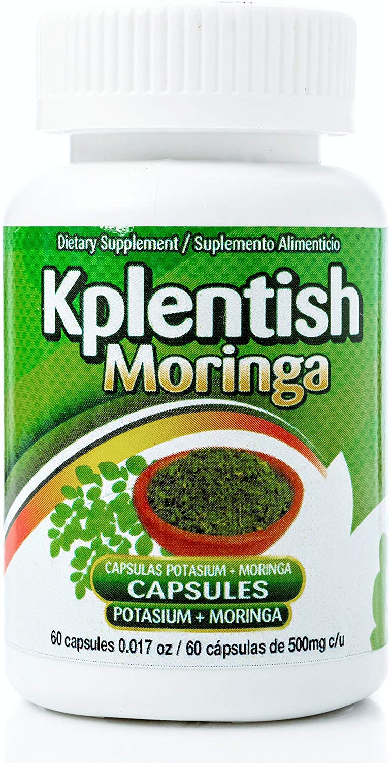 KPLENTISH POTASSIUM AND MORINGA SUPPLEMENT