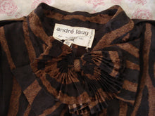 Load image into Gallery viewer, Vintage Andre Laug jacket with bow at neck