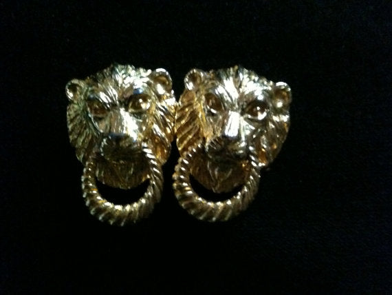 Vintage Mimi Di N lion belt buckle