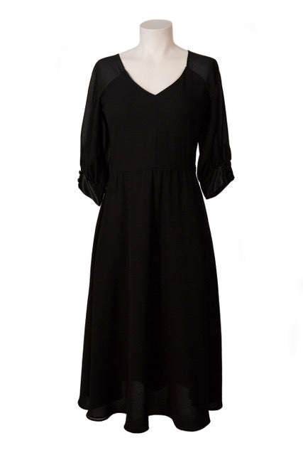 Vintage Albert Nipon black dress