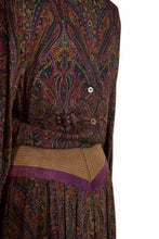 Load image into Gallery viewer, Joan Sparks for Daniel Barrett paisley wool dress