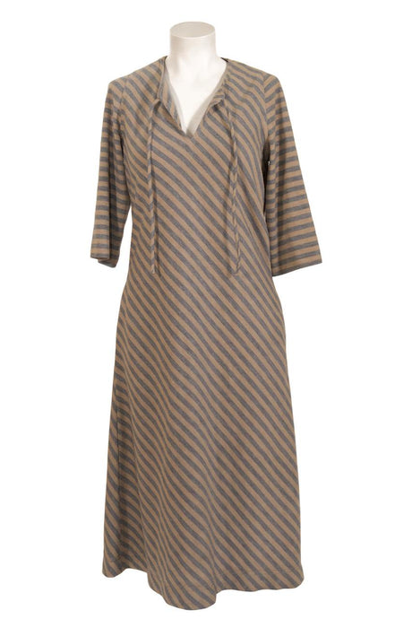 Vintage Albert Nipon striped tunic dress