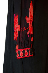 Averardo Bessi silk jersey print dress