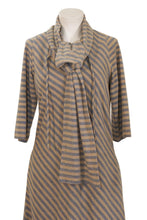 Load image into Gallery viewer, Albert Nipon striped tunic dress