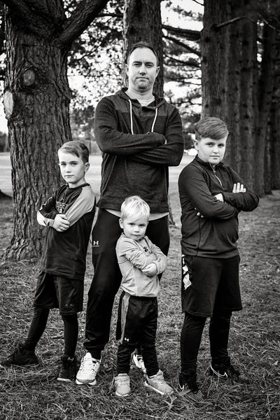 Raising boys in a modern world: advice and encouragement from a dad of boys