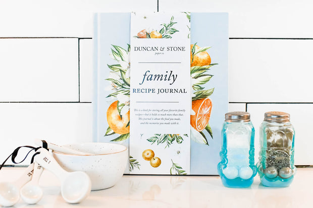 Family Recipe Book 1