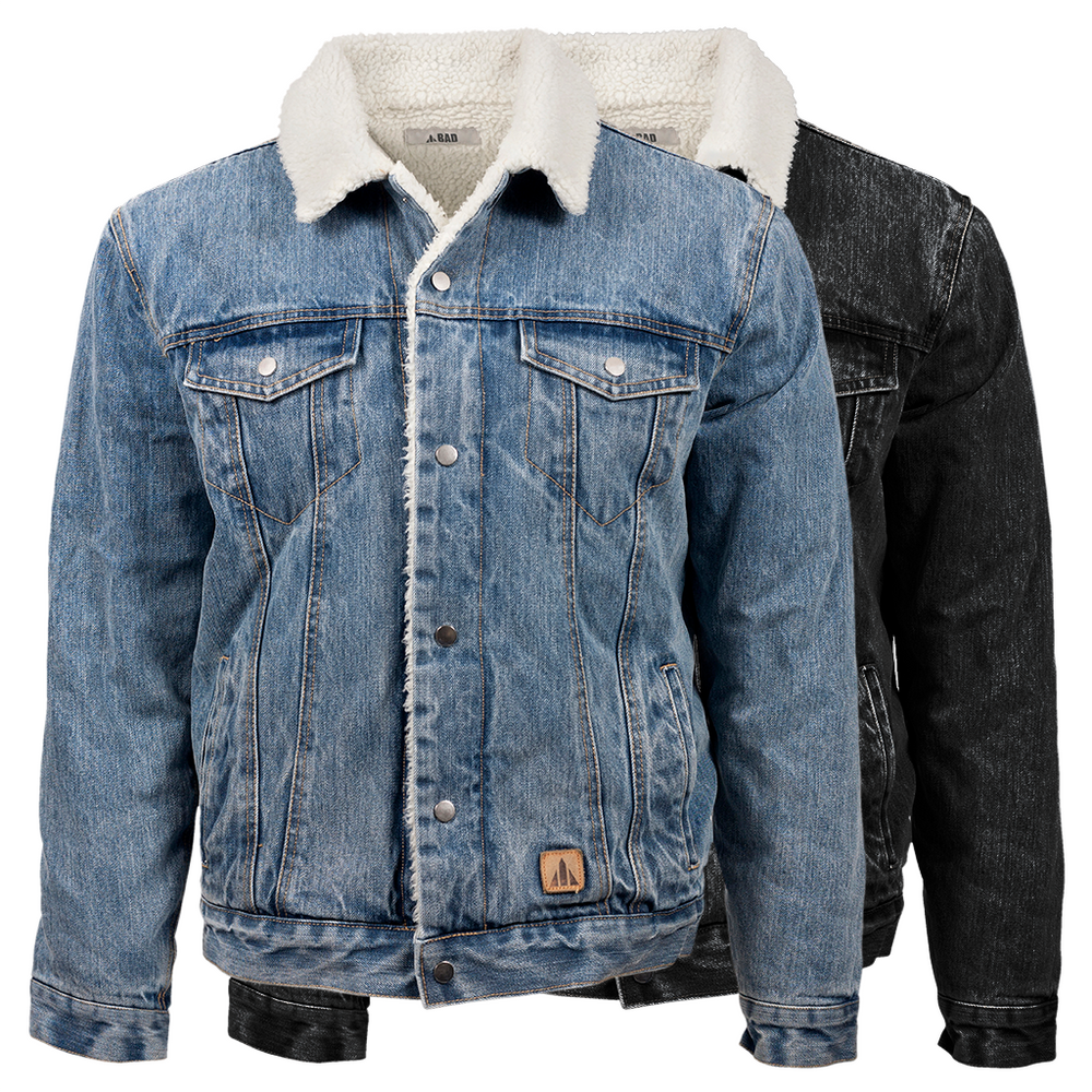 BAD® DENIM SHERPA JACKET