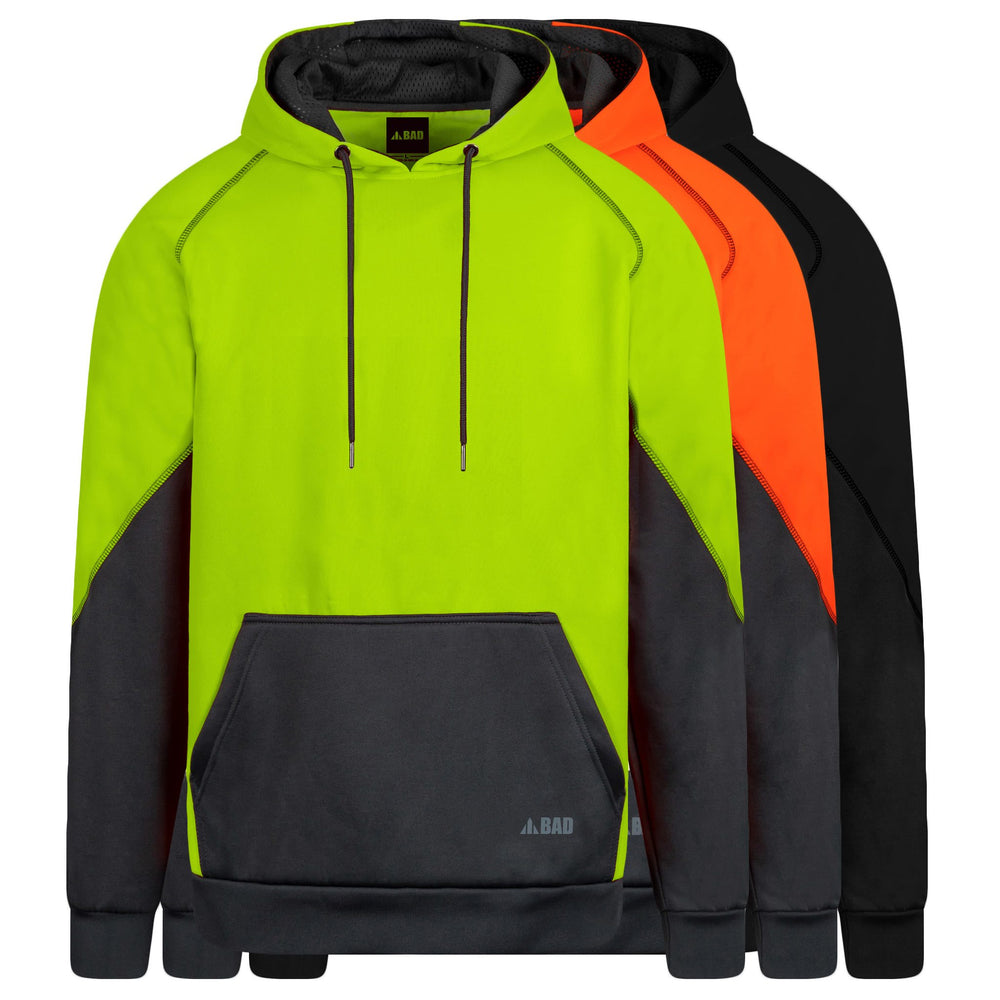 BAD® ESSENTIAL™ HI-VIS FLEECE HOODIE