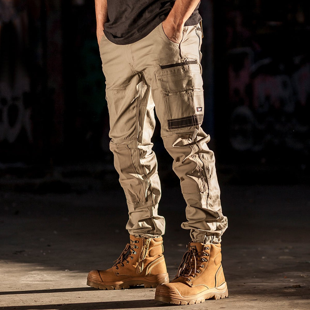 BAD ATTITUDE™ SLIM FIT CUFFED WORK PANTS