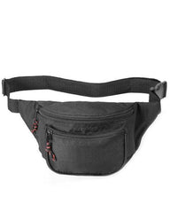 Fanny Pack with Three Zippered Pockets - 1015
