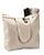 Large Canvas Zippered Tote Bag - TG261