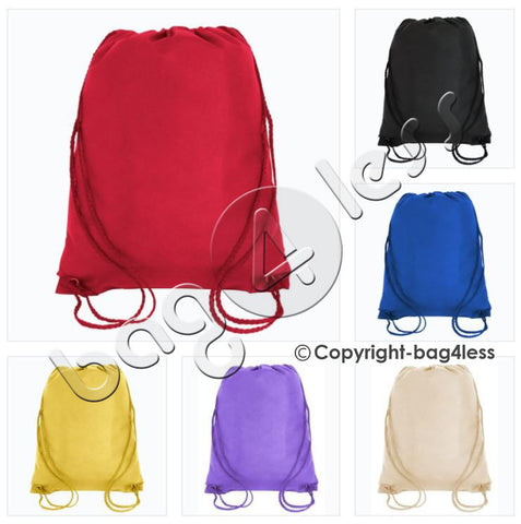 Non-Woven Junior Drawstring Backpack Small Size - GK420