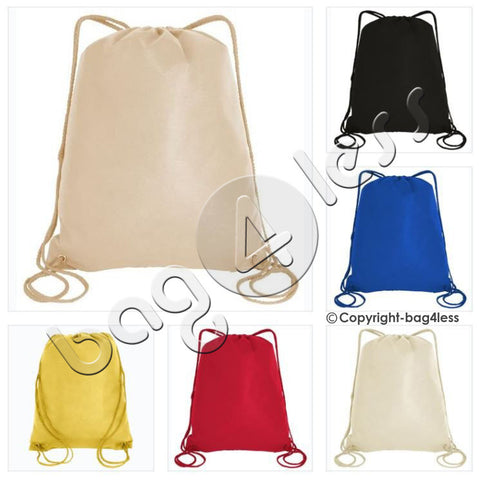 Non-Woven Drawstring Bag/Backpack Large Size - GK490