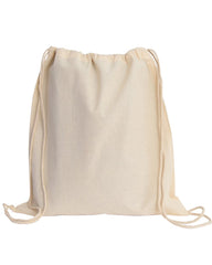 Small Drawstring Canvas Backpack - BPK12