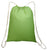 Economical Drawstring Backpack Lime